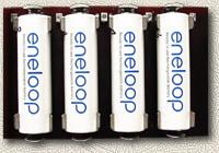 Držák tužkových (AA) baterek