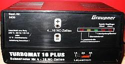 Nabíječ Graupner-Turbomat 16 plus