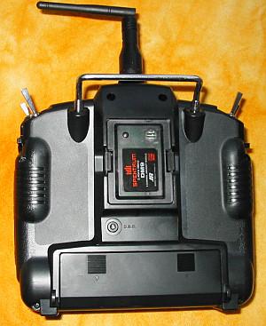 Vysílač po úpravě